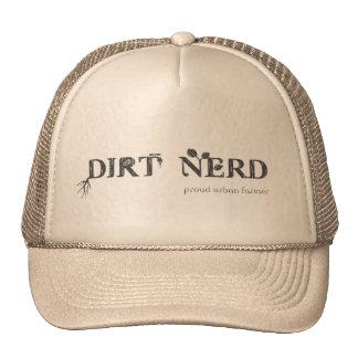 Empollón de la suciedad - granjero urbano orgullos gorras de camionero