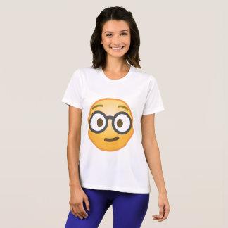 Empollón Emoji Camiseta