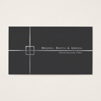 Empresa de la arquitectura tarjeta de negocios