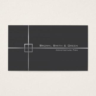 Empresa de la arquitectura tarjeta de visita