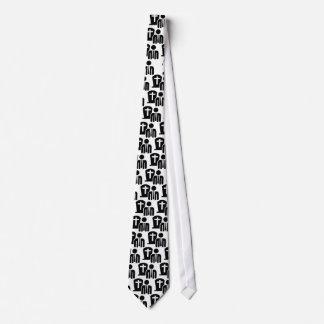 Empresario de pompas fúnebres corbatas