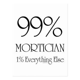 Empresario de pompas fúnebres del 99% postal
