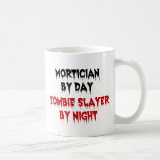 Empresario de pompas fúnebres del asesino del taza de café