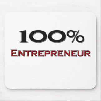 Empresario del 100 por ciento alfombrilla de ratón