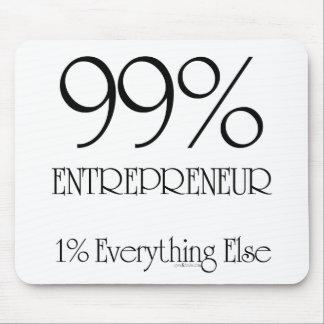Empresario del 99% alfombrilla de ratón