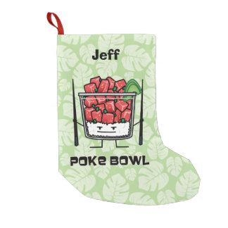Empuje el aku de los palillos de la ensalada de calcetín navideño pequeño