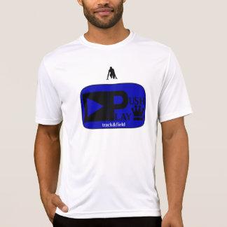 Empuje el desgaste atlético Track&Field del juego Camisetas