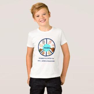 EMPUJE la camiseta de los niños