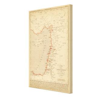En 1839 de Terre Sainte Impresiones En Lona Estiradas