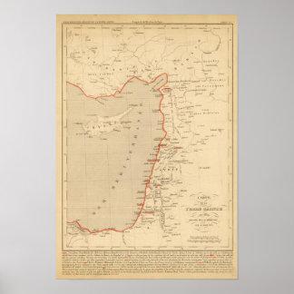 En 1839 de Terre Sainte Impresiones