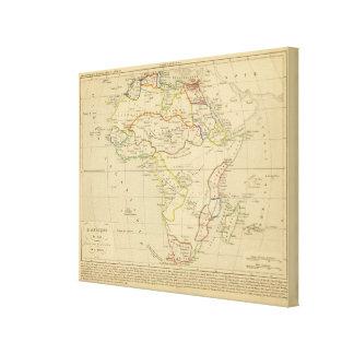 En 1840 de L'Afrique Impresiones En Lona Estiradas