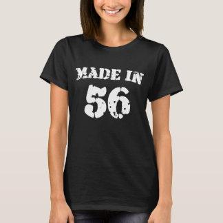 En 1956 camisa hecha