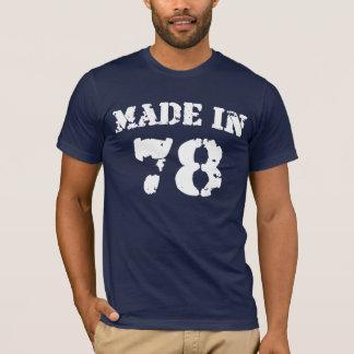 En 1978 camisa hecha