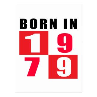 En 1979 diseños llevados del cumpleaños postal