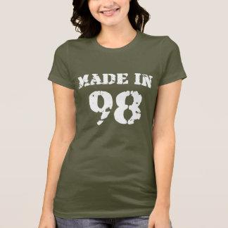 En 1998 camisa hecha