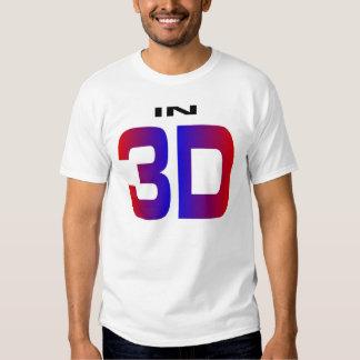En 3D Camisetas