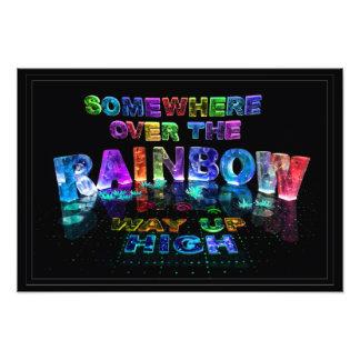 En alguna parte sobre el arco iris fotos