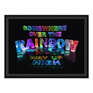 En alguna parte sobre el arco iris cojinete