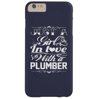 En amor con el fontanero funda para iPhone 6 plus barely there