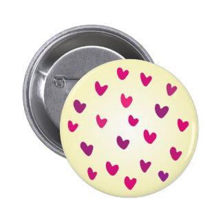 En amor con el momento chapa redonda de 5 cm