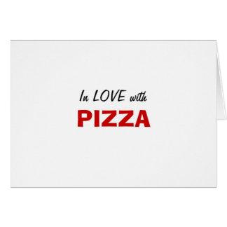 En amor con la pizza felicitacion