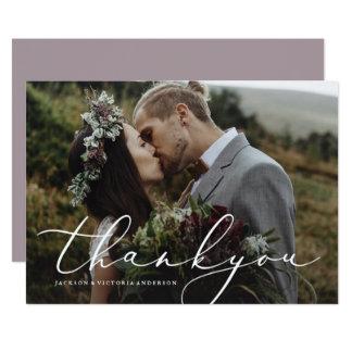 En amor gracias tarjeta de la foto