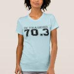 En camiseta del entrenamiento 70,3