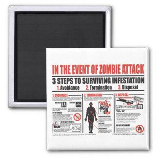 En caso de ataque del zombi: IMÁN