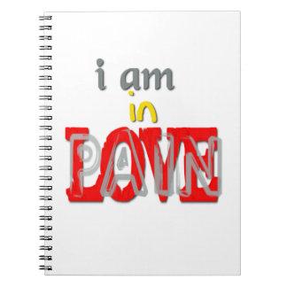 En cuaderno del dolor del amor