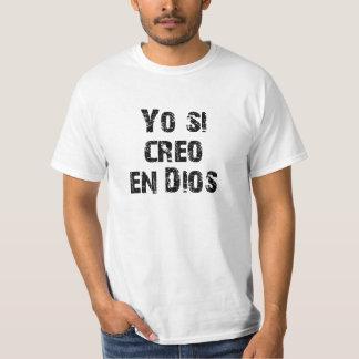 En Dios del creo de Yo si Camiseta