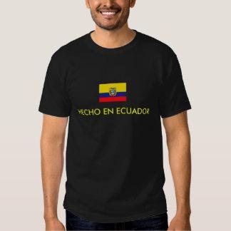 EN ECUADOR DE HECHO CAMISETA