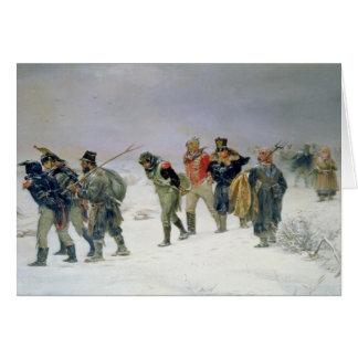 En el año de 1812, 1874 tarjeta de felicitación
