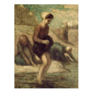 En el borde del agua c 1849-53 postales