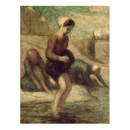 En el borde del agua, c.1849-53 postales