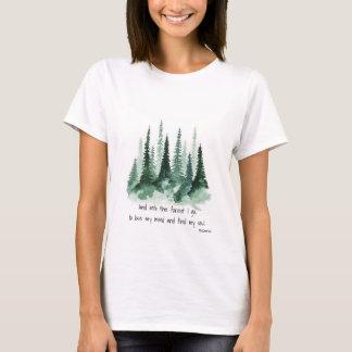 En el bosque camiseta