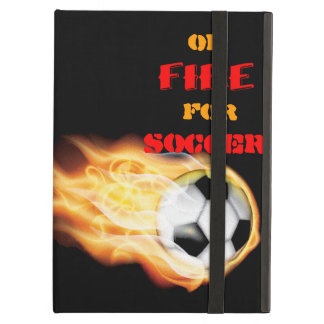 En el fuego para el fútbol