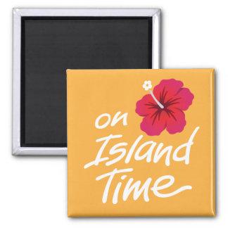 En el imán del recuerdo del tiempo de la isla con