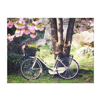 En el jardín de la primavera lienzo