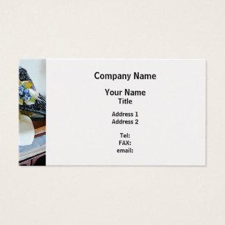 En el luto - final del platino tarjeta de negocios