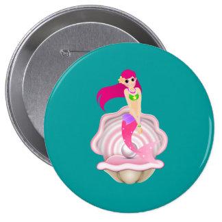 """""""En"""" el Pin rosado del botón de la sirena"""