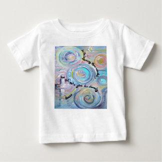 En el principio camiseta de bebé