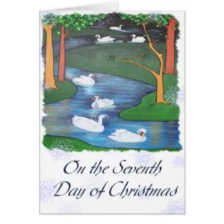 En el séptimo día de navidad tarjeton