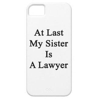 En el último mi hermana es abogado iPhone 5 cobertura