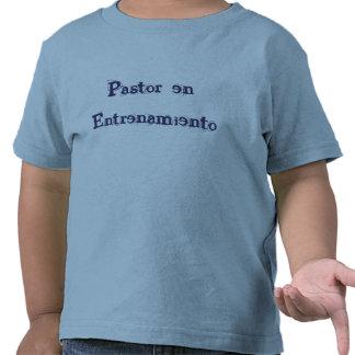 En Entrenamiento T-Shirt de Niños del pastor Camiseta