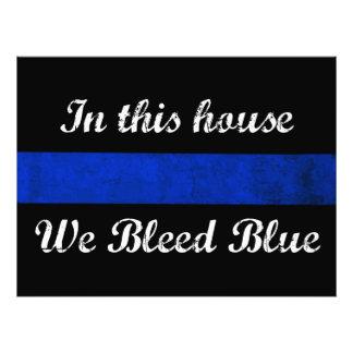 En esta casa sangramos el azul foto