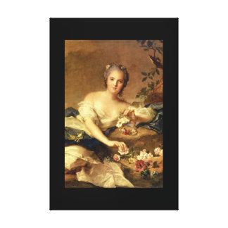 En Flore_Portraits de señora Enriqueta Impresión En Lienzo