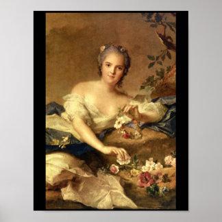 En Flore_Portraits de señora Enriqueta Póster
