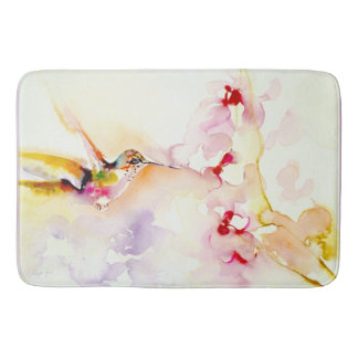 """""""En"""" la impresión rosada del colibrí"""