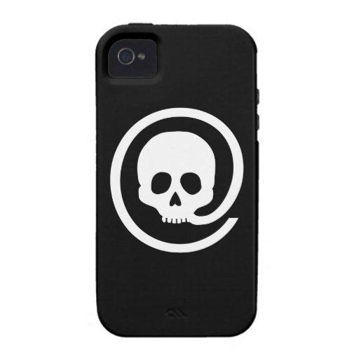 En la muestra del cráneo vibe iPhone 4 carcasa