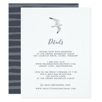 En la tarjeta de información de la huésped del ala